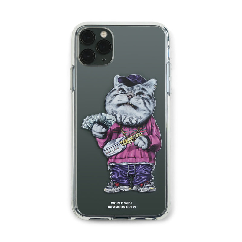 PHONE CASE CATSGANG CLEAR iPHONE 11 / 11 Pro / 11 Pro Max