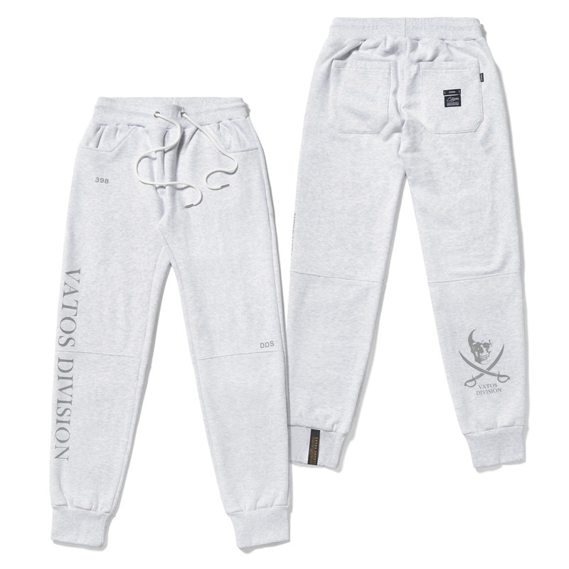 DDS HEAVY SWEAT JOGGER PANTS GREY